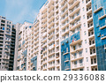 Wall Of New Modern Multi-storey Residential 29336088
