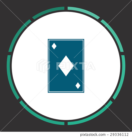 Card suit Icon Vector , Stock Illustration [29336112] , PIXTA