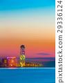 Batumi, Adjara, Georgia. Sunset Or Sunrise. Bright 29336124