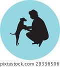 dog, man, pet 29336506