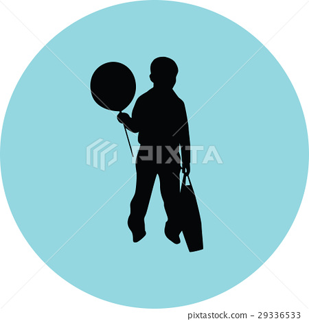 kids with balloon 29336533