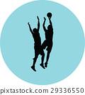 籃球 球 人影 29336550