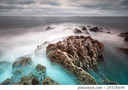 Coastline of Atlantic ocean in Ireland 29336694