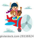 Children Imagination Plane Fun 29336924