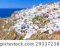 Windmill of Oia village, Santorini island, Greece 29337238
