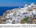 Windmill of Oia village, Santorini island, Greece 29337239