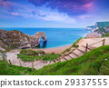 Jurassic Coast of Dorset with Durdle Door, UK 29337555