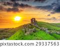 castle, ruins, corfe 29337563