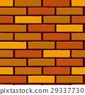 Brick Wall Seamless Vector Illustration Background 29337730