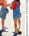 couple skateboard teen 29342258