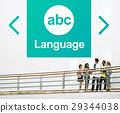 Literacy ABC Icon Alphabet Concept 29344038