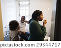 African Descent Family House Home Resting Living 29344717