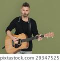 guitar, harmonica, musician 29347525