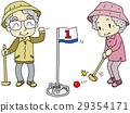 盛大的高尔夫 老人 外祖父 29354171