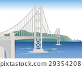 vector, vectors, bridge 29354208