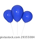 Balloons isolated on white background. 29355084