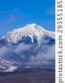 산, 겨울, 푸른 29355185