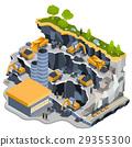 coal, quarry, vector 29355300
