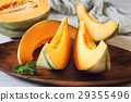 Fresh sweet orange melon 29355496
