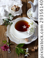 Romantic tea drinking with jasmine tea 29356140