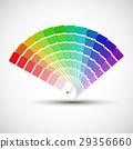 vector, palette, background 29356660