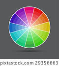 palette, colorful, vector 29356663