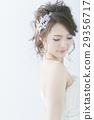 웨딩 드레스의 신부 29356717