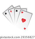 playing cards vector 29356827