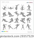 sport, sports, silhouette 29357529