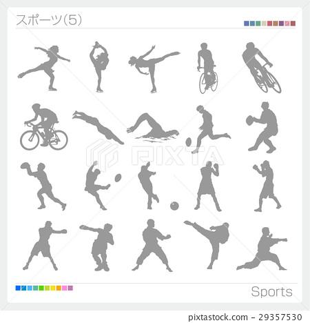 sport, sports, silhouette 29357530