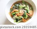 Hong kong fried noodle with seafood 29359485