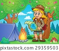 Scout girl theme image 5 29359503