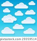 Stylized clouds theme image 1 29359514