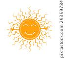 sunbeam, emoji, sunny 29359784