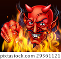 Devil in Hell Fire 29361121