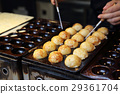 process to cooking takoyaki japanese food 29361704