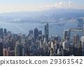 city skyline from Victoria Peak. 29363542