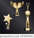 trophy set golden 29364401