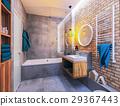 modern design of a bathroom 29367443