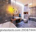 modern design of a bathroom 29367444
