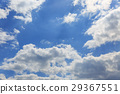 blue sky, cloud, clouds 29367551