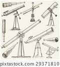 set of astronomical instruments, telescopes 29371810