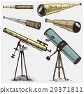 set of astronomical instruments, telescopes 29371811
