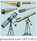 set of astronomical instruments, telescopes 29371812
