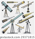 set of astronomical instruments, telescopes 29371815