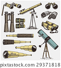 set of astronomical instruments, telescopes 29371818