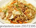日式炒麵 午餐 食物 29372395