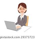 女商人書桌工作 29373723