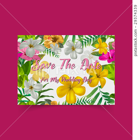 floral greeting card 29374339