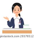 여성, 접수, 간호사 29376512